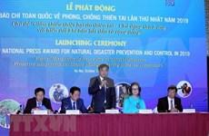 Celebran en Hanoi acto en respuesta al Día Internacional para la Reducción de Desastres