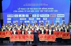 Honran a empresarios con grandes aportes al progreso de Hanoi
