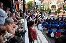 Recuerdan a víctimas de atentados en Bali en 2002