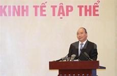 Destaca primer ministro de Vietnam papel de economía colectiva