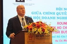 Dialogan autoridades de Ciudad Ho Chi Minh con empresarios británicos