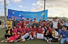 Participan casi mil vietnamitas en campeonato regional de fútbol en Japón