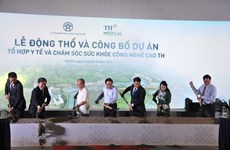 Inician en Hanoi construcción de complejo de salud de alta tecnología