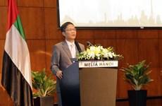 Impulsan Vietnam y EAU cooperación económica, comercial e inversionista