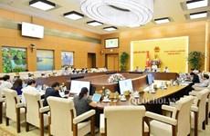 Concluye reunión 38 del Comité Permanente del Parlamento vietnamita