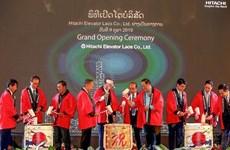 Abre gigante japonés de electrónica Hitachi unidad de servicios de ventas en Laos