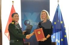 Firman Vietnam y UE acuerdo marco de asociación para gestión de crisis