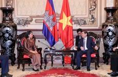 Robustecen relaciones multifacéticas entre Vietnam y Camboya