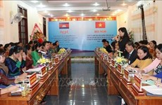 Robustecen cooperación mujeres de provincias vietnamita y camboyana