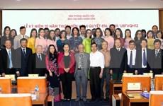 Promueven renovaciones del periódico del Parlamento de Vietnam