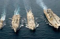 Realizan Tailandia y la India ejercicio naval conjunto