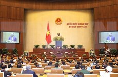 Concluye Parlamento de Vietnam primera jornada de su octavo período de sesiones