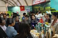 Presentan productos agrícolas vietnamita en exposición internacional en Corea del Sur