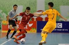 Derrota Vietnam 2-0 a Australia en campeonato regional de fútbol sala