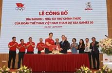 Sabeco es patrocinador oficial de delegación vietnamita en SEA Games 30