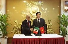 Impulsan Vietnam y México cooperación en sectores agrícola y acuícola