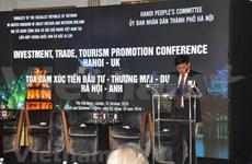 Presentan en Reino Unido potencialidades comerciales y turísticas de Hanoi