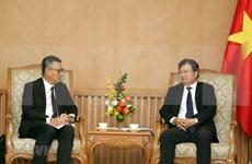 Recibe vicepremier vietnamita al director general del grupo tailandés SCG