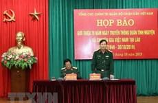 Conmemoran 70 años de soldados voluntarios vietnamitas y expertos en Laos