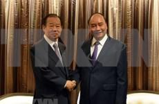 Recibe premier vietnamita al secretario general del Partido Liberal Democrático de Japón
