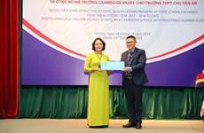 Primera escuela pública de Vietnam integrada en el sistema de Cambridge