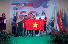 Triunfa delegación vietnamita en Concurso Internacional de Ciencias en Indonesia