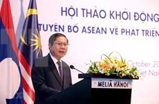 Debaten en Vietnam sobre avance profesional de labores sociales en la ASEAN