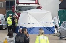 Puede demorar la identificación de los 39 cadáveres hallados en un contenedor en Reino Unido