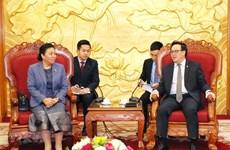 Robustecen Partidos de Vietnam y Laos lazos entre sus Comisiones de Relaciones Exteriores