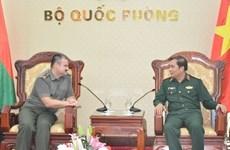 Impulsan Vietnam y Beralús lazos en defensa