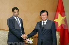 Viceprimer ministro de Vietnam promete condiciones favorables para empresas de EAU