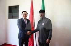 Desarrollo de Vietnam incentiva el progreso de Nigeria