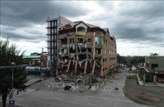 Mueren cinco personas durante nuevo terremoto en Filipinas