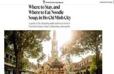 Resalta prensa estadounidense los atractivos de Ciudad Ho Chi Minh