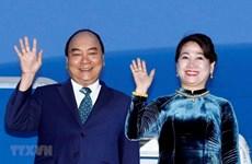 Parte premier de Vietnam rumbo a Tailandia para Cumbre de ASEAN