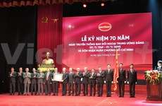 Honran contribuciones de Comisión de Relaciones Exteriores del Partido Comunista de Vietnam
