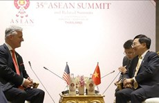 Desea Estados Unidos fortalecer cooperación con Vietnam