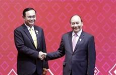 Felicita Tailandia a Vietnam por asumir presidencia de ASEAN en 2020