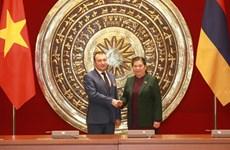 Estrechan Vietnam y Armenia cooperación en diferentes sectores