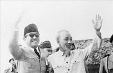 Conmemoran Aniversario 60 de la primera visita del Presidente Ho Chi Minh a Indonesia