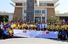 Promueven Vietnam y Camboya intercambio juvenil amistoso tradicional