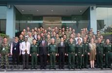 Emprende Vietnam curso de entrenamiento de infantería pesada para misiones de paz de la ONU