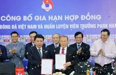 Continuará el surcoreado Park Hang-seo como entrenador de la selección vietnamita de fútbol