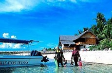 Disminuye el número de turistas extranjeros que llegan a Indonesia