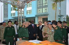 Finaliza Vietnam preparativos para misiones de mantenimiento de paz de la ONU