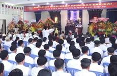 Envía dirigente vietnamita felicitaciones por 93 aniversario de la fundación de la religión de Cao Dai