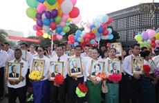 Felicitan dirigentes vietnamitas a Camboya por su Día Nacional