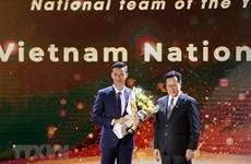 Gana selección de fútbol de Vietnam premio al mejor equipo regional