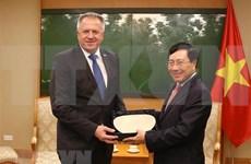Vietnam aspira a mayores nexos con Eslovenia en comercio e inversión