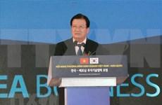 Vicepremier vietnamita promete mejores condiciones para inversores surcoreanos